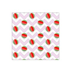 Watermelon Chevron Satin Bandana Scarf