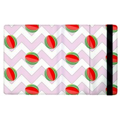 Watermelon Chevron Apple Ipad Pro 12 9   Flip Case by snowwhitegirl