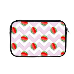 Watermelon Chevron Apple MacBook Pro 13  Zipper Case