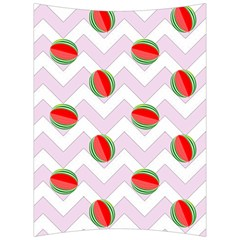 Watermelon Chevron Back Support Cushion