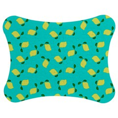 Lemons Blue Jigsaw Puzzle Photo Stand (bow) by snowwhitegirl