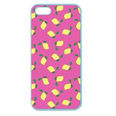 Lemons Pink Apple Seamless Iphone 5 Case (color)