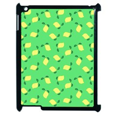 Lemons Green Apple Ipad 2 Case (black) by snowwhitegirl