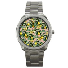 Fruit Branches Sport Metal Watch by snowwhitegirl