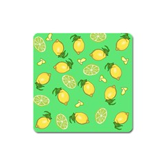 Lemons And Limes Square Magnet by snowwhitegirl