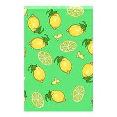 Lemons And Limes Shower Curtain 48  X 72  (small)  by snowwhitegirl