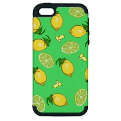 Lemons And Limes Apple Iphone 5 Hardshell Case (pc+silicone) by snowwhitegirl