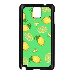 Lemons And Limes Samsung Galaxy Note 3 N9005 Case (black) by snowwhitegirl