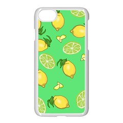 Lemons And Limes Apple Iphone 8 Seamless Case (white)