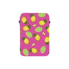 Lemons And Limes Pink Apple Ipad Mini Protective Soft Cases by snowwhitegirl