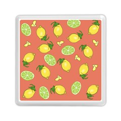 Lemons And Limes Peach Memory Card Reader (square) by snowwhitegirl
