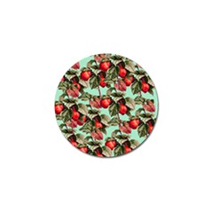 Fruit Branches Green Golf Ball Marker (10 Pack) by snowwhitegirl