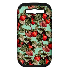 Fruit Branches Green Samsung Galaxy S Iii Hardshell Case (pc+silicone) by snowwhitegirl