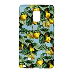 Fruit Branches Blue Samsung Galaxy Note Edge Hardshell Case by snowwhitegirl