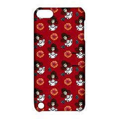 Girl With Dress Red Apple Ipod Touch 5 Hardshell Case With Stand by snowwhitegirl