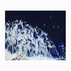 Blue Waves Sea Small Glasses Cloth