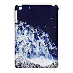 Blue Waves Sea Apple Ipad Mini Hardshell Case (compatible With Smart Cover) by snowwhitegirl