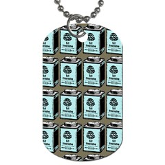 Vintage Can Dog Tag (two Sides) by snowwhitegirl