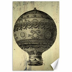 Vintage Air Balloon Canvas 24  X 36  by snowwhitegirl