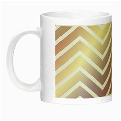 Ombre Zigzag 01 Night Luminous Mugs by snowwhitegirl