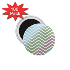 Ombre Zigzag 02 1 75  Magnets (100 Pack)  by snowwhitegirl