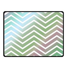 Ombre Zigzag 02 Fleece Blanket (small) by snowwhitegirl