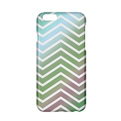 Ombre Zigzag 02 Apple Iphone 6/6s Hardshell Case by snowwhitegirl