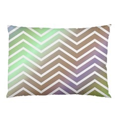 Ombre Zigzag 03 Pillow Case by snowwhitegirl
