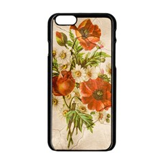 Poppy 2507631 960 720 Apple Iphone 6/6s Black Enamel Case by vintage2030
