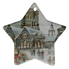 Santa Claus 1845749 1920 Ornament (star) by vintage2030