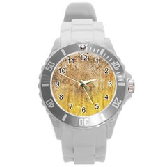 Wall 2889648 960 720 Round Plastic Sport Watch (l) by vintage2030