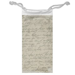 Handwritten Letter 2 Jewelry Bag by vintage2030
