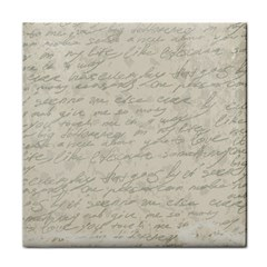 Handwritten Letter 2 Face Towel