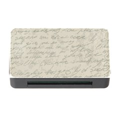 Handwritten Letter 2 Memory Card Reader With Cf by vintage2030