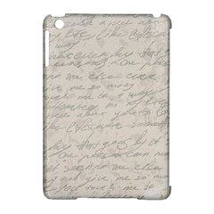 Handwritten Letter 2 Apple Ipad Mini Hardshell Case (compatible With Smart Cover) by vintage2030