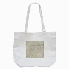 Handwritten Letter 2 Tote Bag (white) by vintage2030