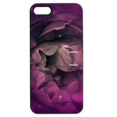 Wonderful Flower In Ultra Violet Colors Apple Iphone 5 Hardshell Case With Stand by FantasyWorld7