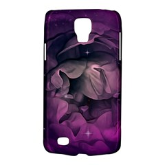 Wonderful Flower In Ultra Violet Colors Samsung Galaxy S4 Active (i9295) Hardshell Case by FantasyWorld7