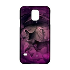 Wonderful Flower In Ultra Violet Colors Samsung Galaxy S5 Hardshell Case  by FantasyWorld7