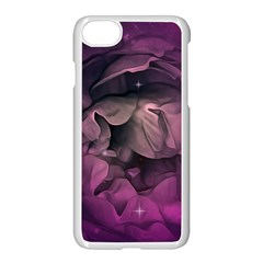 Wonderful Flower In Ultra Violet Colors Apple Iphone 7 Seamless Case (white) by FantasyWorld7