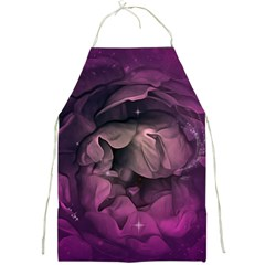 Wonderful Flower In Ultra Violet Colors Full Print Aprons by FantasyWorld7