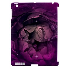 Wonderful Flower In Ultra Violet Colors Apple Ipad 3/4 Hardshell Case (compatible With Smart Cover) by FantasyWorld7