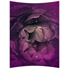Wonderful Flower In Ultra Violet Colors Back Support Cushion
