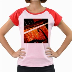 Cello Performs Classic Music Women s Cap Sleeve T Shirt by FunnyCow