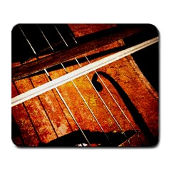 Cello Performs Classic Music Large Mousepads by FunnyCow