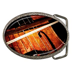 Cello Performs Classic Music Belt Buckles by FunnyCow