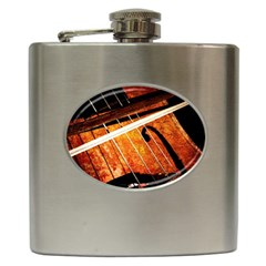 Cello Performs Classic Music Hip Flask (6 Oz) by FunnyCow