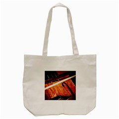 Cello Performs Classic Music Tote Bag (cream) by FunnyCow