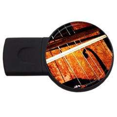 Cello Performs Classic Music Usb Flash Drive Round (4 Gb) by FunnyCow