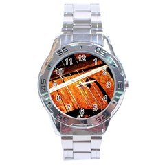Cello Performs Classic Music Stainless Steel Analogue Watch by FunnyCow